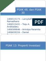4. PPT PSAK 13, 48, 30 (FINAL)