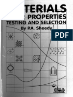 Materials Properties Testing & Selection