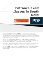 Law Entrance Exam Classes in South Delhi