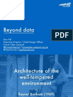 Beyond data - Dan Hill