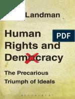 Todd Landman. Human Rights and Democracy, 2013