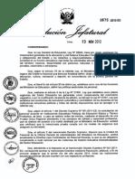 Directiva Para El Examen de Contrato 2013