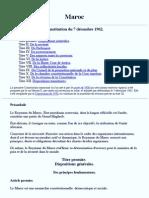 Constitution Marocaine 1962