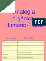 Analogía orgánicaHumano-Tierra