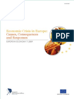 Economic crisis in Europe Causes Consequences and Responses