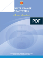 Climate Change Adaptation-A Trainer's Handbook