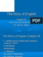 HEL-04 Study Questions for McCrum's Story of English Chapter 04  Prepared by Dr. David F. Maas