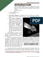 GPS Seminar Synopsis