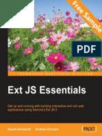 Ext JS Essentials - Sample Chapter