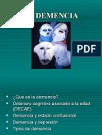 Introducción a La Demencia