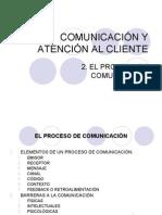 Proceso de Comunicación al cliente