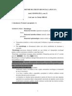 Curs Metode de Cercetare Sociala Aplicata Mihail