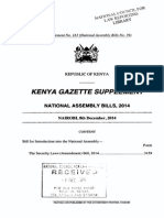 SecurityLaws Amendment Bill 2014