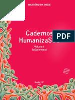 Cadernos HumanizaSUS Vol.5