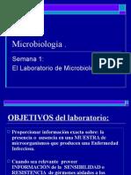 1. El Laboratorio de Microbiología