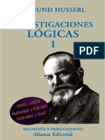 Husserl - Investigaciones Lógicas I