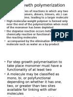 Step Polymerisation