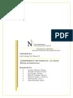 Informe Nº 1 - Radiaciones con teodolito