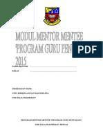 Buku Modul Mentor Mentee 2015