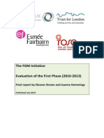 The FGM Initiative Final Report 2013