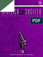 Bioetica e Società - Anno XIII - N1