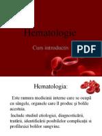 Hematologie Curs Intro