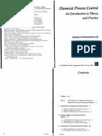 Stephanopoulos Process Control Pdf