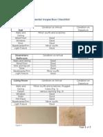 Rental Inspection Checklist1
