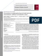 Photooxidation of polypropylene/layered double hydroxide nanocomposites