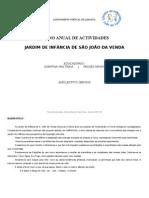 Plano Anual de Acticidades JI de S. João da Venda 2009-2010