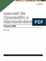 Tractor Oruga D9H Manual Operacion Mantenimiento