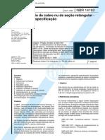 NBR 14193 - Fio de Cobre Nu de Secao Retangular - Especificacao