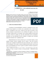EGS - Aula 01 - Epistemologia Ambiental