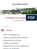 LCR Meter and Its Application 30July13