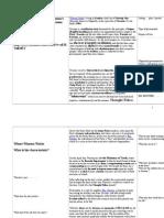 Nineteen Eighty Four Summary Worksheet