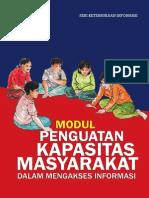 Modul Penguatan Kapasitas Masyarakat Dalam Mengakses Informasi
