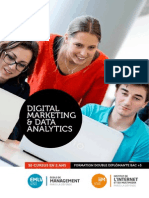 Bi Cursus Digital Marketing & Data Analytics IIM/EMLV 2015