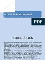 Pet Naf en Patologia Osea-II