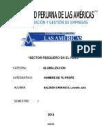 Sector Pesquero en El Peru