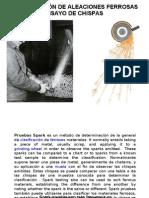 Ensayo Chispas y Mas 2012