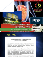 Simpo 5 - Surgical Approach in Abdominal Pain - Dr Sumaryono SpB