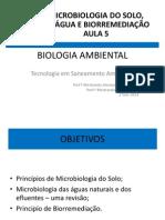 Microbiologia Do Solo Aula5 2014
