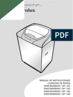 MANUAL DE INSTRUCCIONES LAVADORA DE ROPAS