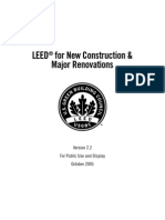 LEED® for New Construction & Major Renovations
