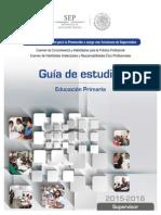 Guía Estudios-Supervisor Educación Primaria
