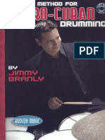 Jimmy Branly -The New Method for Afro-Cuban Drumming