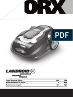 WORX Landroid M Robotic Mower WG794 Owners Manual
