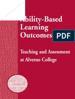Ability Based Book. Alverno College Faculty 2005