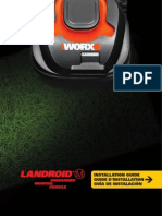 WORX Landroid M Robotic Mower WG794 Installation Guide