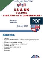 us-uk Comparison